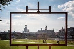 Der Standort des berühmten Canalettoblicks