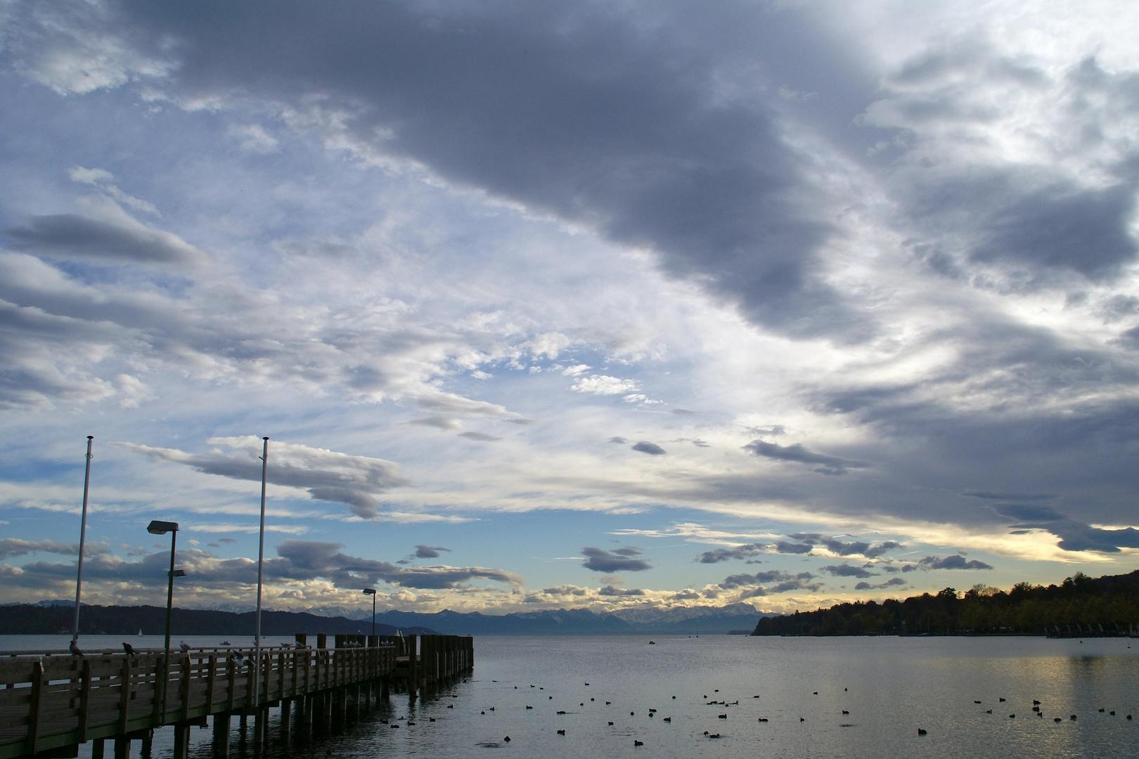 Der Starnberger See, Bayern