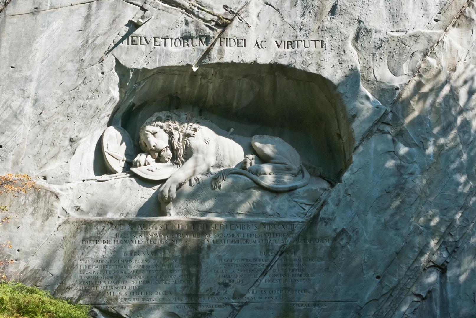 Der sterbende Löwe von Luzern