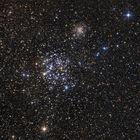 Der Sternhaufen M35 im Sternbild Zwilling