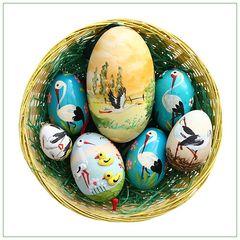 Der Storch hat Eier gelegt ;o)