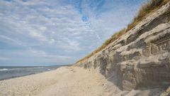 Der Strand bei Ahrenshoop