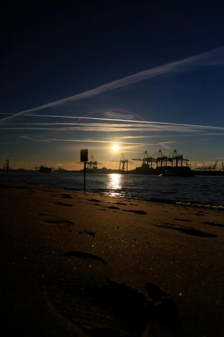 Der Strand für Frühaufsteher...