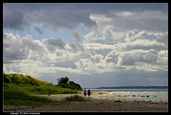 Der Strand vom Augustenhof ... - The coast line from Augustenhof