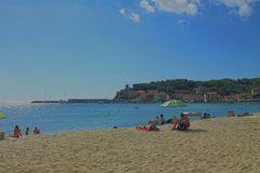 Der Strand von Biodola (Elba)