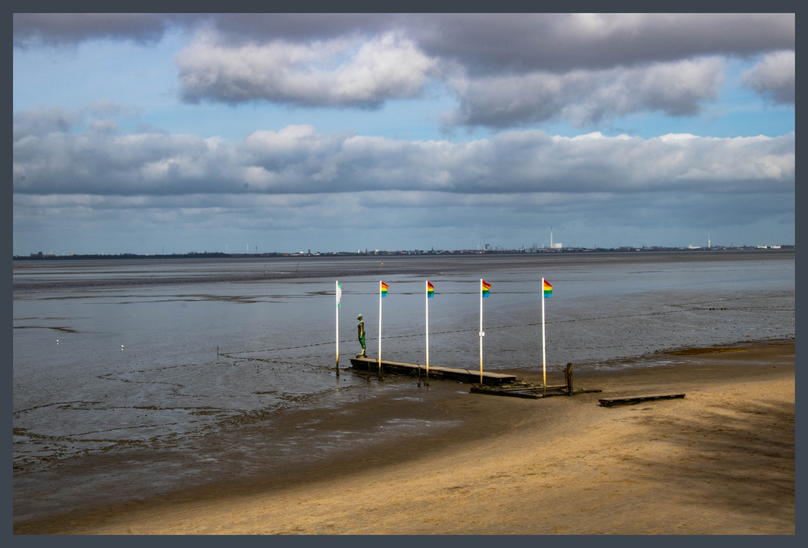 Der Strand von Dangast