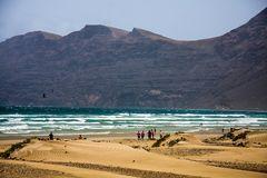 Der Strand von Famara