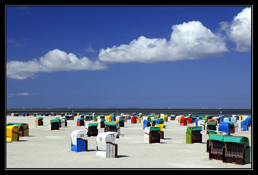 Der Strand von Neßmersiel