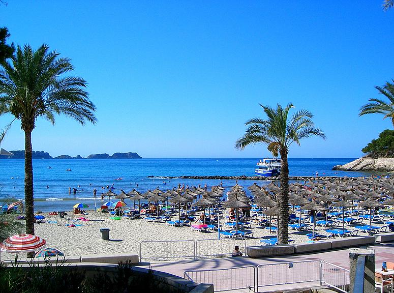 Der Strand von Peguera