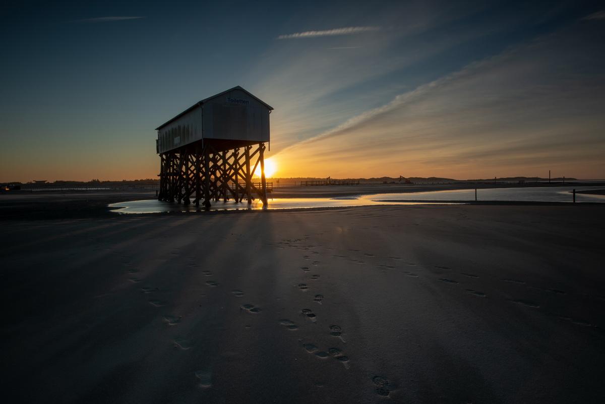 Der Strand von St.-Peter Ording