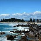 Der Strand von Tauranga