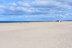Der Strand von Warnemünde zu Coronazeiten