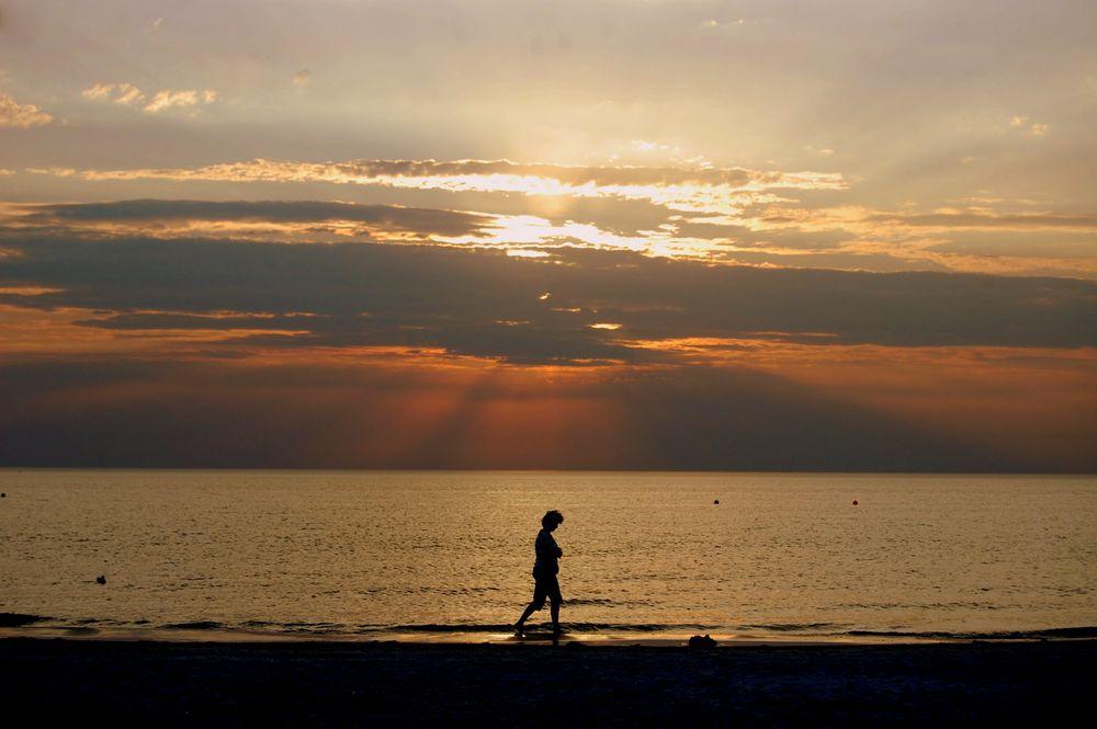 Der Strandspaziergang auf Hiddensee
