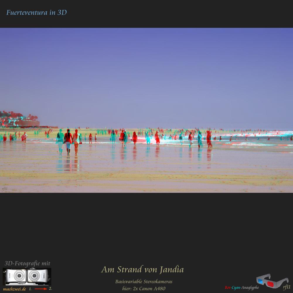Der Strandspaziergang in 3D + VollHD