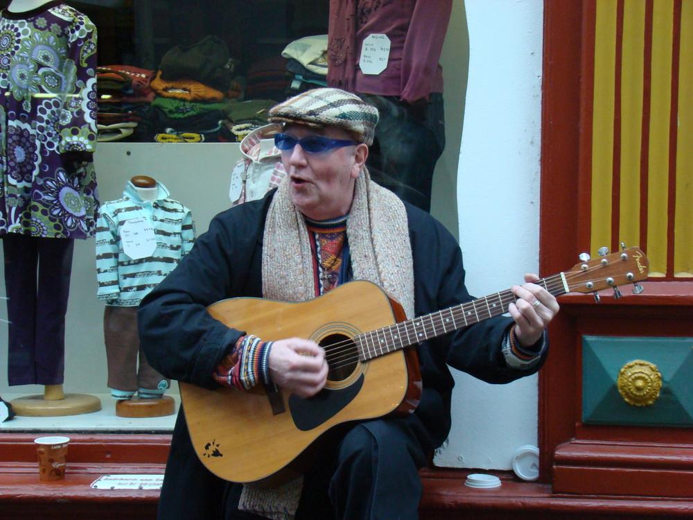 Der Straßenmusikant 1