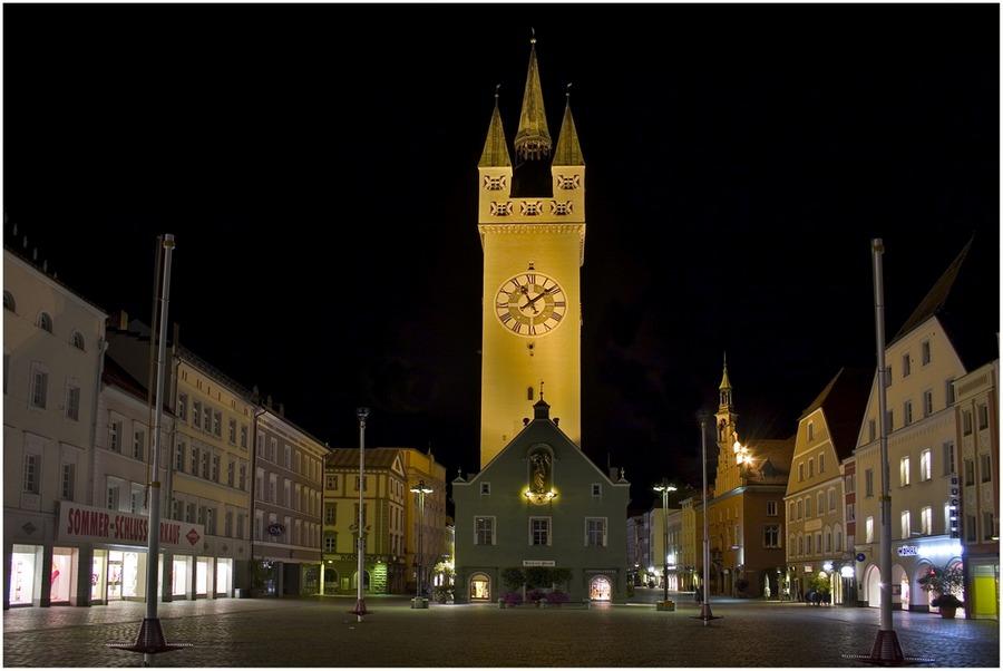 der Straubinger Stadtplatz