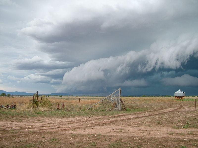 der Sturm kommt