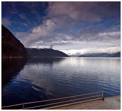 Der Tag am Fjord