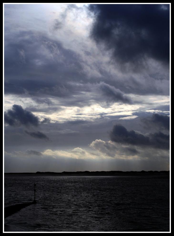 Der Tag endet mit schlechtem Wetter