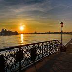 Der Tag erwacht auf Giudecca die Stille kann man hören