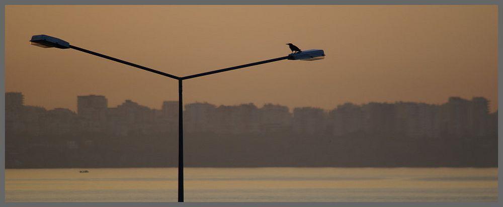 Der Tag erwacht in Antalya