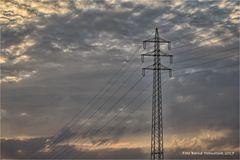 Der Tag geht im Tagebau Garzweiler ... der Strom kommt