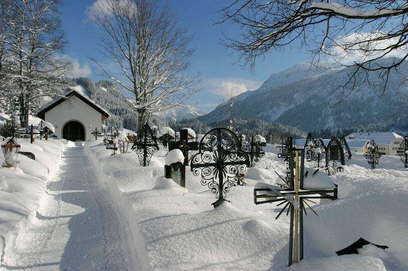 Der Tag nach dem Schnee
