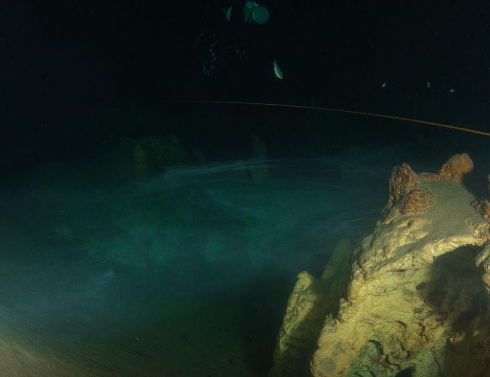 Der Taucher über dem Nebelmeer