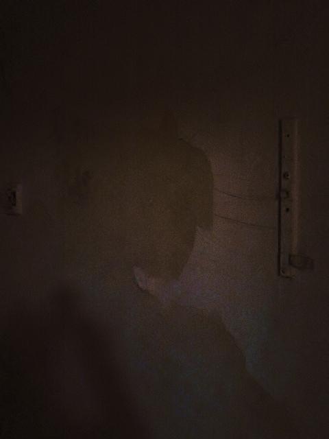 Der Teufel an der Wand