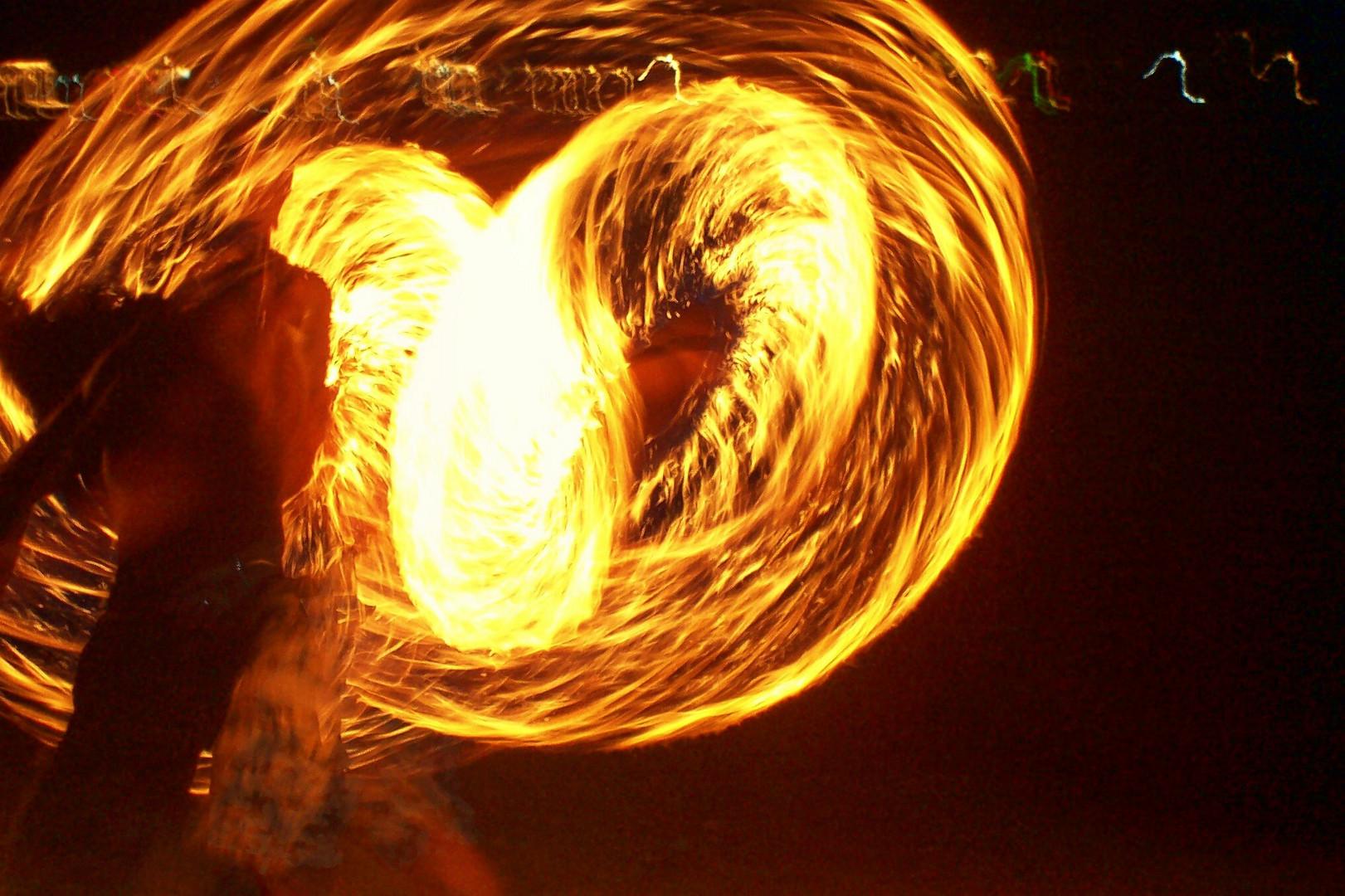 Der Thai-Feuer-Mann