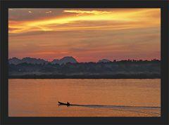 Der Thanlwin River ging dann schlafen