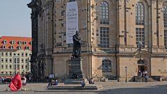 Der Thesenanschlag an der Schlosskirche zu Wittenberg durch Martin Luther vor 503 Jahren.