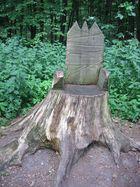 Der Thron des Waldkönigs?