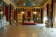 Der Thronsaal im Dresdner Residenzschloss