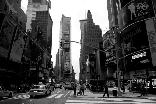 der Times square, Broadway