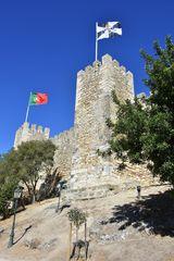 Der Torre de Tombo in Lissabon