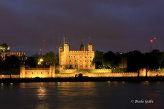 Der Tower bei Nacht