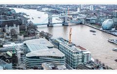 Der Tower, Tower Bridge vom Skygarden gesehen bei Tag