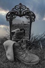 Der Traum der Wandersocke