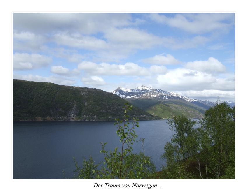 Der Traum von Norwegen ...