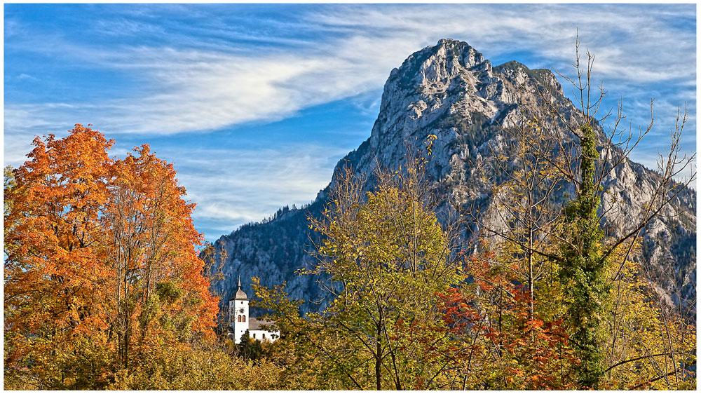 Der Traunstein im Herbst...