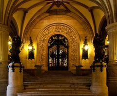 Der Treppenaufgang zum Senatsflügel