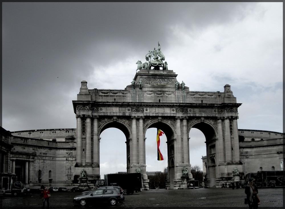 Der Triumphbogen in Brüssel