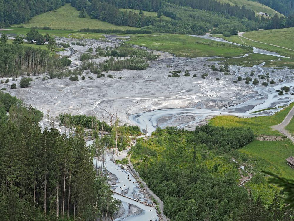 Der Tschingelsee - ein besonderes Erlebnis! (Foto 1) - Le lac de Tschingel n'est pas un vrai lac!