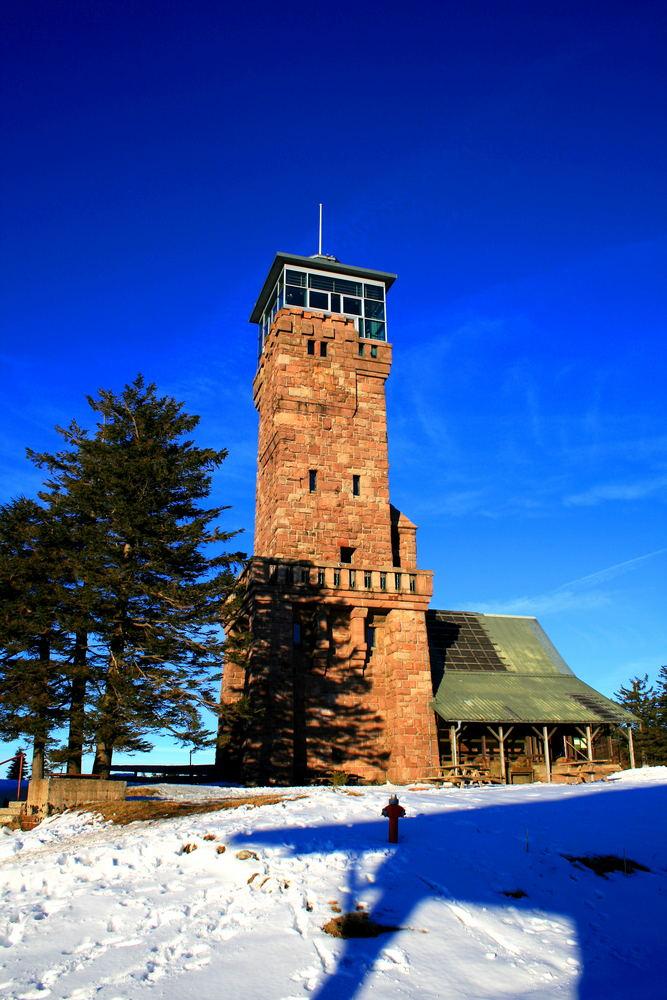 Der Turm auf der Hornisgrinde