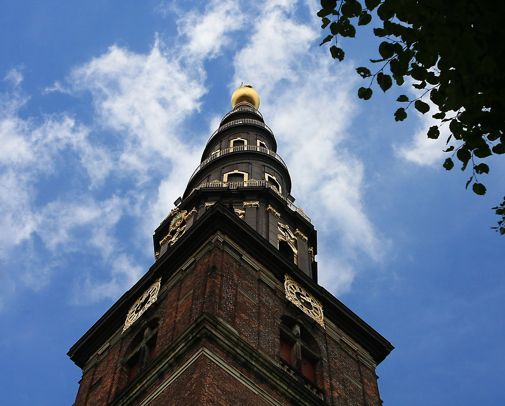 Der Turm der Vor Frelsers Kirche