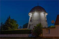 Der Turm einer Mühle in Altenburg