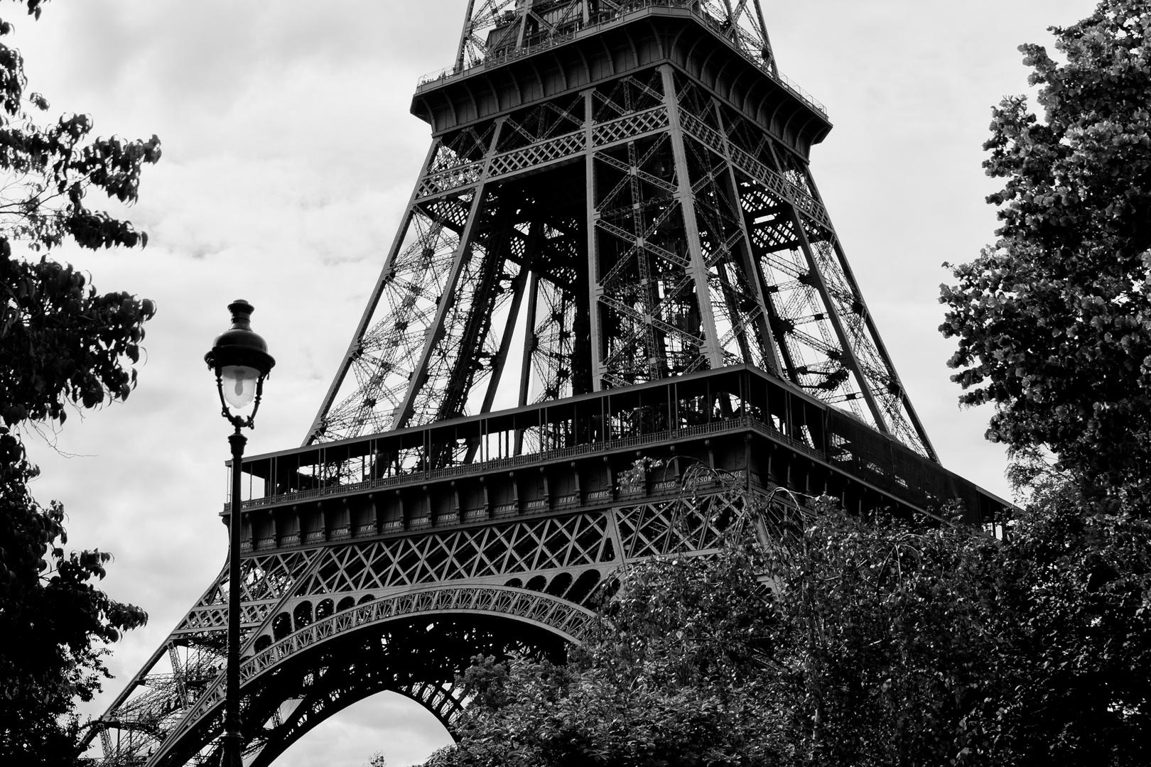 Der Turm und die Lampe