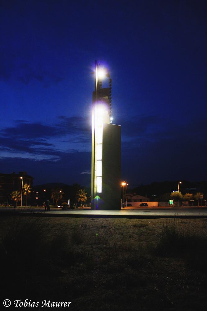 Der Turm von Castelldefels