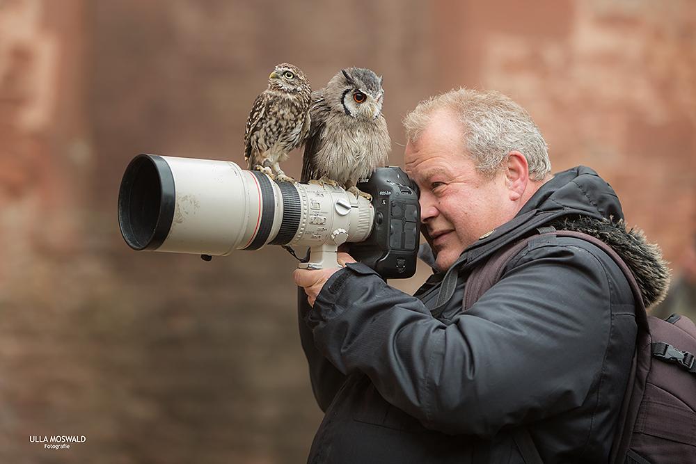 ...der Typ hat 'n Vogel...
